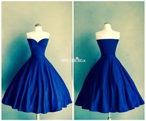1950, blue, and fashion image