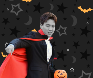 background, shownu, and monsta x image