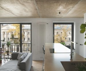 appartment, interior, and industrial image