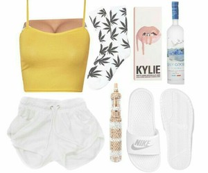 nike, crop top, and Polyvore image