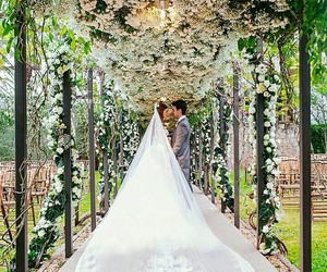 love, beauty, and bride image