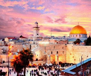 adventure, Jerusalem, and travel image