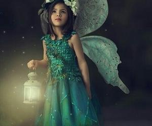 angel, beautiful, and crown image