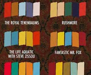 wes anderson, colors, and film image