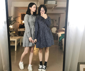 friends, asian, and kfashion image