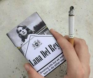 cigarette, lana del rey, and smoke image