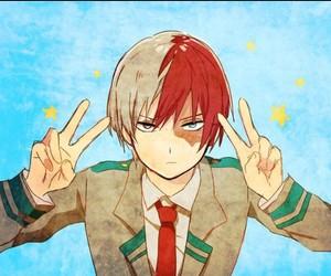 boku no hero academia, todoroki, and anime image