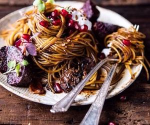 dinner, food, and italian image