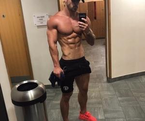 fella, fit, and Hot image