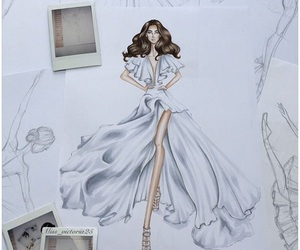 art, barbie, and drawing image