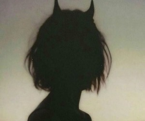 girl, Devil, and aesthetic image