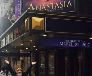 broadway, musical, and anastasia image