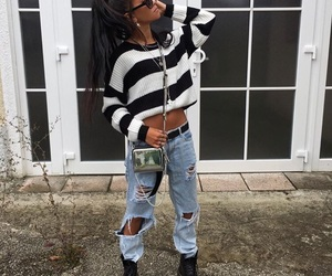 bag, dope, and outfit image
