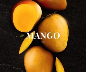 mango, fruit, and theme image