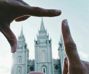 Temple, lds, and mormon image