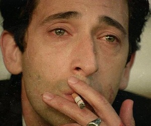 actor, smoking, and adrien brody image