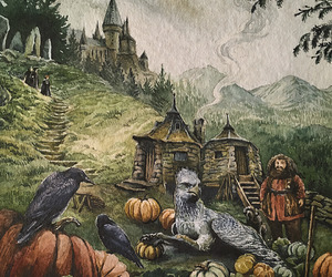 harry potter and hippogriff image