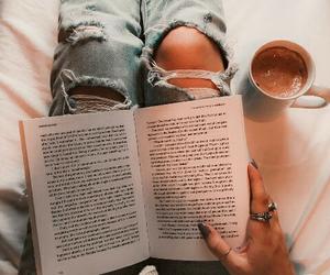 book, tumblr, and autumn image