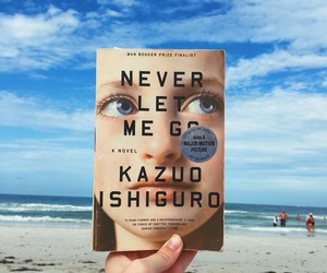 book, literature, and never let me go image