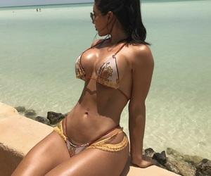 abs, beauty, and bikini image