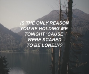 be, lonely, and quote image