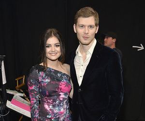 lucy hale and joseph morgan image