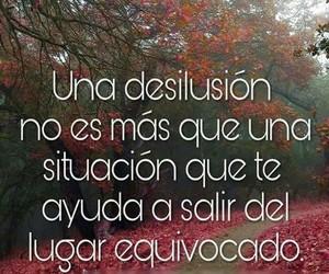 vida, frases español, and desilusion image
