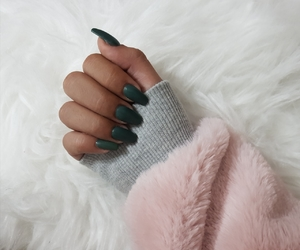 matte, nails, and unhas image