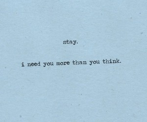 stay, love, and quotes image