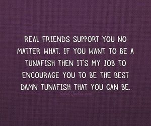 best friends, quote, and support image