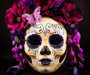 day of the dead, dia de muertos, and tradicion image