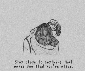 love, quotes, and alive image