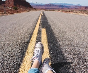 road, tumblr, and photography image