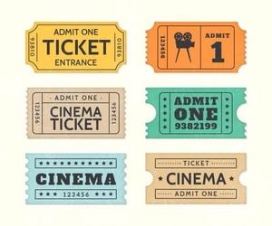 boletos, cine, and circo image