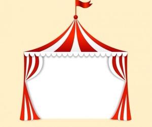 background, circo, and circus image