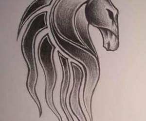 LOTR, tattoo, and rohan image