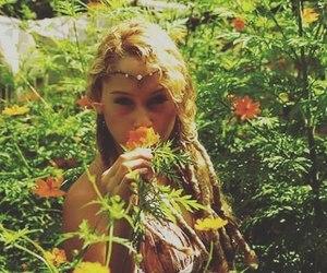 flower, hippie, and natureza image