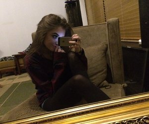 flannel, tumblr, and girl image
