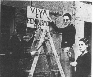 feminism, woman, and feminismo image