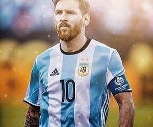 argentina, football, and messi image