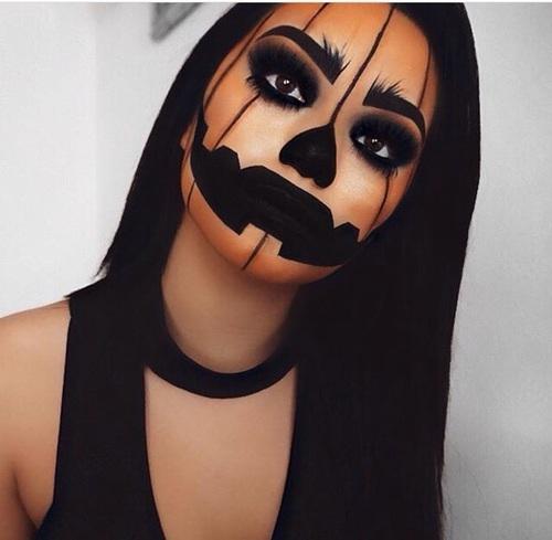 Halloween Looks With Everyday Makeup.5 Amazing Halloween Looks On We Heart It