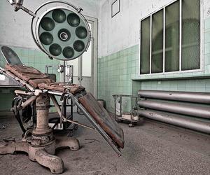 abandoned, hospital, and mint image