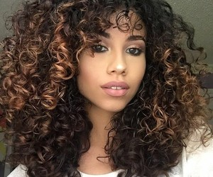 curls, hairstyles, and @ugotthelook91 image
