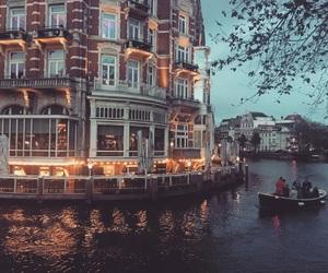 amazing, amsterdam, and night image