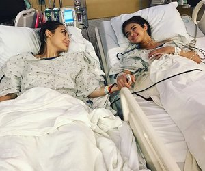 best friend, hospital, and selena gomez image
