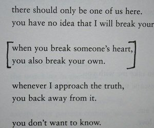 heart, quotes, and break image