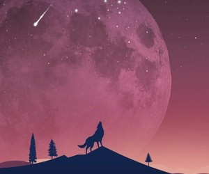 moon, wallpaper, and nature image