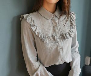 asian fashion, blouse, and cherrykoko image
