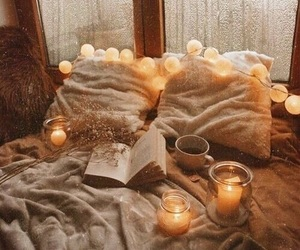 aesthetic, bedroom, and fall image