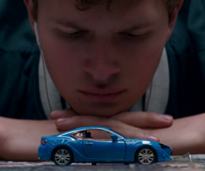 baby driver and ansel elgort image